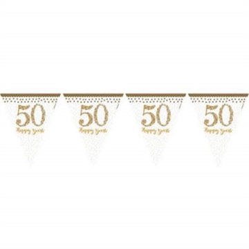 "Banner ""50 Happy Years"" Vimpler"